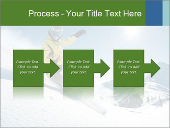 Snowboard Action PowerPoint Template - Slide 88