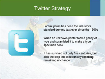 Snowboard Action PowerPoint Template - Slide 9