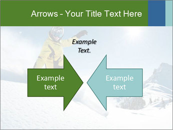 Snowboard Action PowerPoint Template - Slide 90