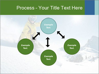 Snowboard Action PowerPoint Template - Slide 91