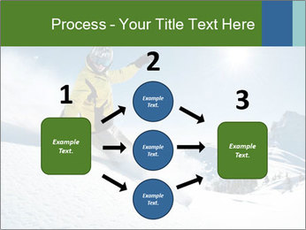 Snowboard Action PowerPoint Template - Slide 92