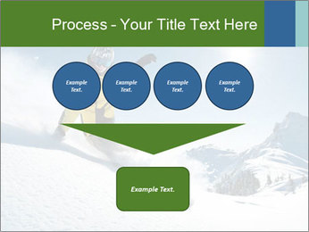 Snowboard Action PowerPoint Template - Slide 93