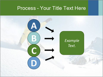 Snowboard Action PowerPoint Template - Slide 94