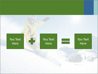 Snowboard Action PowerPoint Template - Slide 95