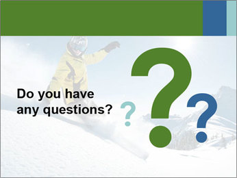 Snowboard Action PowerPoint Template - Slide 96
