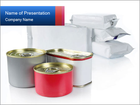 Food Containers PowerPoint Templates