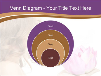Woman Holding Pink Lotus PowerPoint Templates - Slide 34