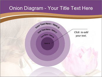 Woman Holding Pink Lotus PowerPoint Template - Slide 61