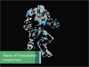 Virtual Robot PowerPoint Templates