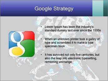 Robot Illustration PowerPoint Template - Slide 10