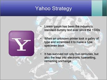 Robot Illustration PowerPoint Template - Slide 11