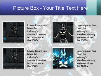 Robot Illustration PowerPoint Template - Slide 14