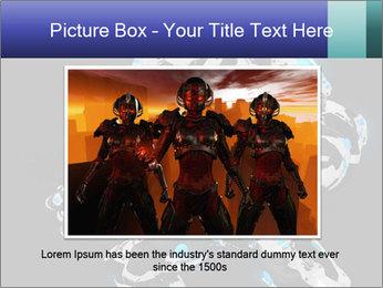 Robot Illustration PowerPoint Template - Slide 15