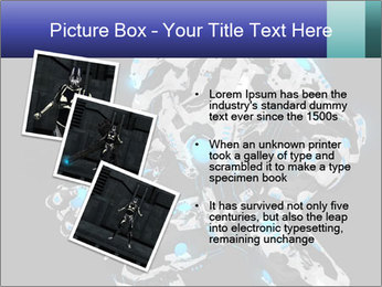 Robot Illustration PowerPoint Template - Slide 17