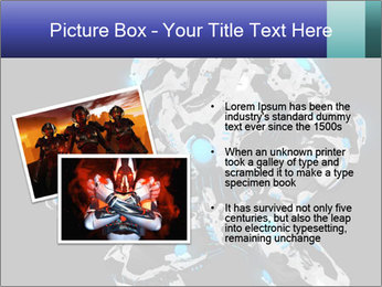 Robot Illustration PowerPoint Template - Slide 20