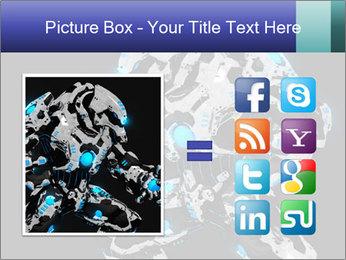 Robot Illustration PowerPoint Templates - Slide 21