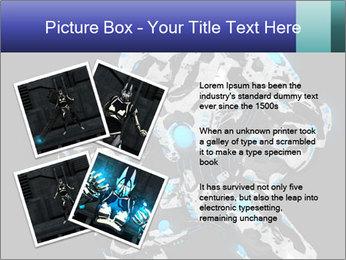 Robot Illustration PowerPoint Template - Slide 23