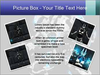 Robot Illustration PowerPoint Template - Slide 24