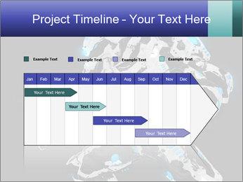 Robot Illustration PowerPoint Template - Slide 25