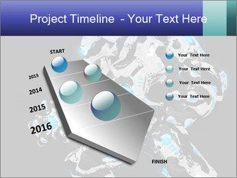 Robot Illustration PowerPoint Templates - Slide 26