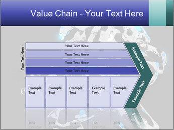 Robot Illustration PowerPoint Template - Slide 27