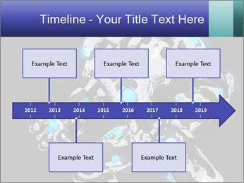 Robot Illustration PowerPoint Template - Slide 28
