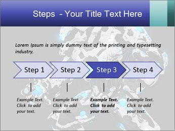 Robot Illustration PowerPoint Template - Slide 4