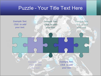 Robot Illustration PowerPoint Template - Slide 41