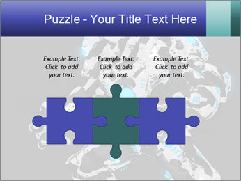 Robot Illustration PowerPoint Template - Slide 42