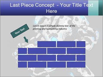 Robot Illustration PowerPoint Template - Slide 46