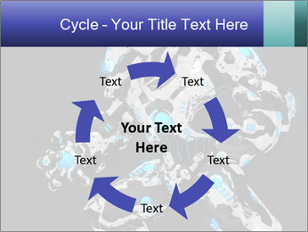 Robot Illustration PowerPoint Template - Slide 62