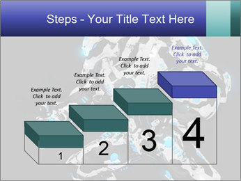 Robot Illustration PowerPoint Templates - Slide 64