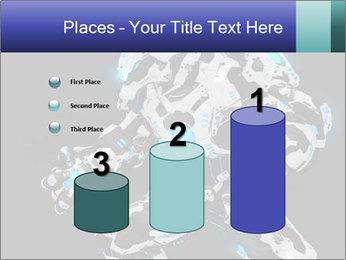 Robot Illustration PowerPoint Templates - Slide 65