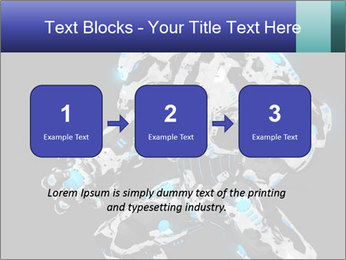 Robot Illustration PowerPoint Templates - Slide 71