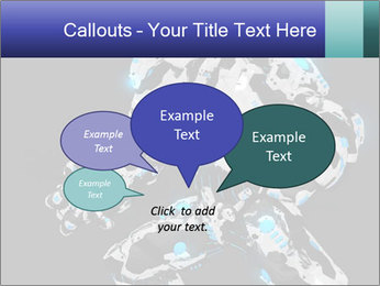 Robot Illustration PowerPoint Templates - Slide 73