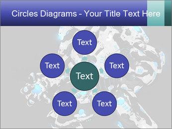 Robot Illustration PowerPoint Templates - Slide 78