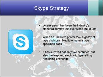 Robot Illustration PowerPoint Template - Slide 8