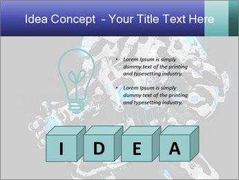 Robot Illustration PowerPoint Template - Slide 80