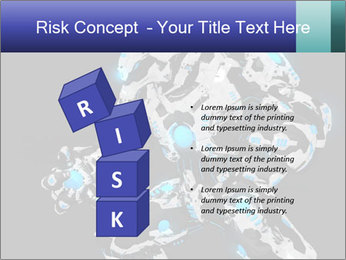 Robot Illustration PowerPoint Templates - Slide 81