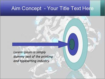 Robot Illustration PowerPoint Template - Slide 83