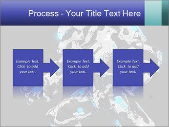 Robot Illustration PowerPoint Templates - Slide 88
