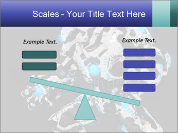 Robot Illustration PowerPoint Templates - Slide 89