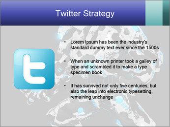 Robot Illustration PowerPoint Template - Slide 9