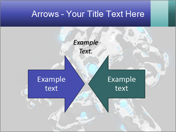 Robot Illustration PowerPoint Template - Slide 90