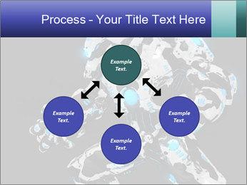 Robot Illustration PowerPoint Templates - Slide 91