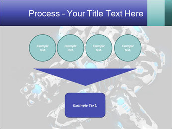 Robot Illustration PowerPoint Templates - Slide 93