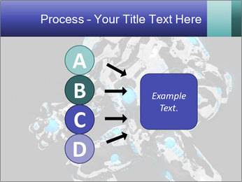 Robot Illustration PowerPoint Templates - Slide 94