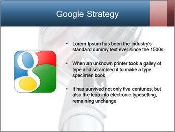 3D Microphone PowerPoint Template - Slide 10