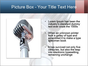 3D Microphone PowerPoint Template - Slide 13