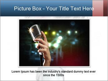3D Microphone PowerPoint Template - Slide 15